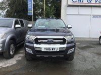 USED 2016 16 FORD RANGER 2.2 LIMITED 4X4 TDCI 5 Seat Double Cab Lifestyle Pickup THE PERFECT DOUBLE CAB PICK UP FULL OF MASSES OF SPEC