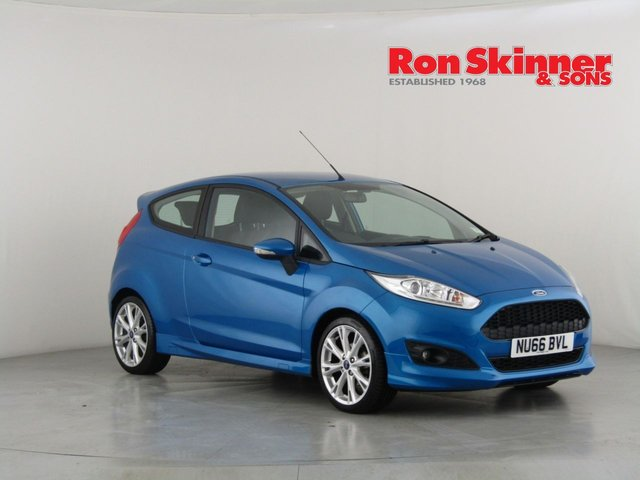 View our 2016 66 FORD FIESTA 1.0 ZETEC S 3d 124 BHP