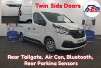 2016 RENAULT TRAFIC 1.6  BUSINESS PLUS DCI . Pedigree Example, Tailgate, Twin Sliding Doors, Air Con, Bluetooth, Reversing Sensors,  Lots more....  £9980.00