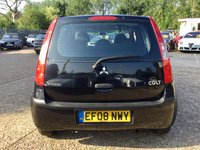 USED 2008 08 MITSUBISHI COLT 1.1 CZ1 5d 75 BHP 1 LADY OWNER, LOW INSURANCE, MOT 24/6/2020, SERVICE HISTORY, SPARE KEY