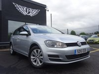 USED 2015 15 VOLKSWAGEN GOLF 2.0 SE TDI BLUEMOTION TECHNOLOGY 5d 148 BHP AA WARRANTY,  MOT AND SERVICE INCLUDED