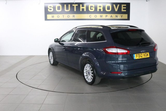 USED 2012 12 FORD MONDEO 2.0 ZETEC BUSINESS EDITION TDCI 5d 138 BHP