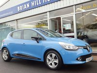 USED 2016 66 RENAULT CLIO 1.2  DYNAMIQUE 16V (NAV)  5dr .........ONE PRIVATE LOCAL OWNER.(4,100 mls.only) FULL SERVICE HISTORY. SAT. NAV. CRUISE. LIKE BRAND NEW