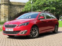 USED 2016 16 PEUGEOT 308 1.6 BLUE HDI S/S SW ALLURE 5d 120 BHP
