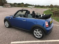 USED 2015 15 MINI CONVERTIBLE 1.6 ONE 2d 98 BHP