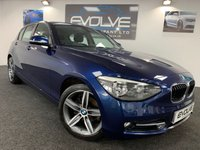USED 2014 14 BMW 1 SERIES 2.0 118D SPORT 5d 141 BHP IMMACULATE, GREAT SPEC!!