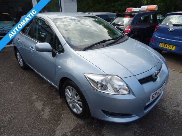 2008 57 TOYOTA AURIS 1.6 T SPIRIT VVT-I MM 5d AUTOMATIC 122 BHP
