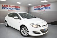 USED 2014 VAUXHALL ASTRA 2.0 ELITE CDTI S/S 5d 163 BHP Front and rear park sensors, Cheap Tax, Leather and more