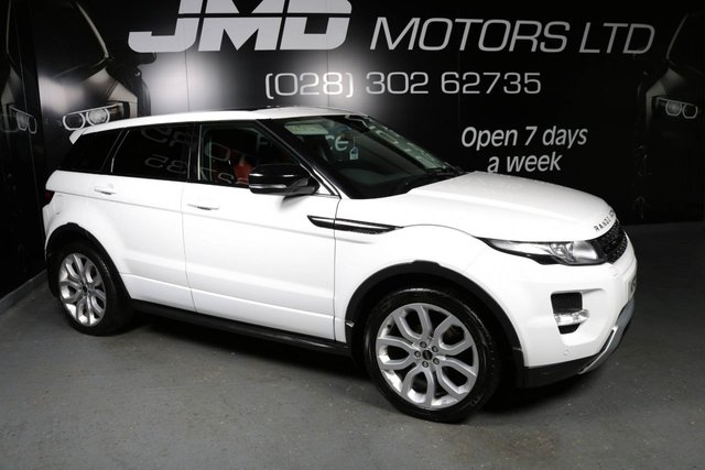 2012 LAND ROVER RANGE ROVER EVOQUE 2.2 SD4 DYNAMIC 190 BHP MANUAL (FINANCE AND WARRANTY)