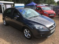 USED 2008 08 FORD FOCUS 1.6 ZETEC 5d 100 BHP FULL MAIN DEALER SERVICE HISTORY - FINANCE AVAILABLE
