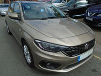 USED 2016 66 FIAT TIPO 1.4 EASY PLUS 5d 94 BHP ULEZ EXEMPT 1 OWNER, 22,000 MILES