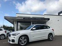 2017 BMW X1 2.0 XDRIVE18D M SPORT 5d  £17450.00