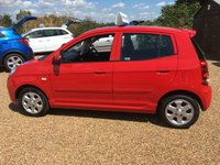 USED 2009 59 KIA PICANTO 1.1 RED 5d 64 BHP FULL SERVICE HISTORY - FINANCE AVAILABLE