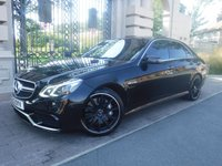 USED 2013 13 MERCEDES-BENZ E CLASS 5.5 E63 AMG 4d 550 BHP *FIANCE ARRANGED*PART EXCHANGE WELCOME*£6915 OF EXTRAS*PANORAMIC OPENING ROOF*KEY LESS ENTRY*DAB*TV*