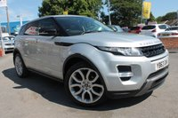 USED 2013 63 LAND ROVER RANGE ROVER EVOQUE 2.2 SD4 DYNAMIC 5d AUTO 190 BHP FULL SERVICE HISTORY - 6 STAMPS - TOP SPEC - MEGA EXAMPLE