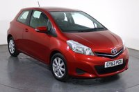 USED 2013 63 TOYOTA YARIS 1.3 VVT-I TR 3d 98 BHP Demo and ONE LADY OWNER with 6 Stamp SERVICE HISTORY