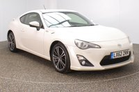 USED 2012 62 TOYOTA GT86 2.0 D-4S 2DR AUTO SAT NAV HEATED HALF LEATHER SEATS 197 BHP HEATED HALF LEATHER SEATS + SATELLITE NAVIGATION + PARKING SENSOR + BLUETOOTH + CRUISE CONTROL + CLIMATE CONTROL + ELECTRIC WINDOWS + ELECTRIC MIRRORS + 17 INCH ALLOY WHEELS