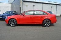 USED 2012 62 AUDI A4 2.0 TDI SE TECHNIK 4d 141 BHP