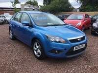 USED 2008 08 FORD FOCUS 1.6 ZETEC 5d 100 BHP LOW MILEAGE WITH SERVICE HISTORY