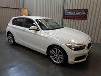 2016 BMW 1 SERIES 1.5 116D SPORT 5d AUTO 114 BHP £12995.00