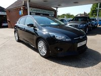 USED 2013 62 FORD FOCUS 1.6 ZETEC S TDCI 5d 113 BHP BLUETOOTH,AIR CON,TWO KEYS,SERVICE HISTORY,CHEAP TOP RUN