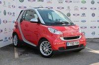 2010 SMART FORTWO CABRIO 1.0 PASSION MHD 2d 71 BHP £4288.00
