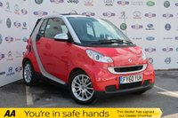 USED 2010 60 SMART FORTWO CABRIO 1.0 PASSION MHD 2d 71 BHP