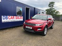2013 LAND ROVER RANGE ROVER EVOQUE 2.2 SD4 PURE 5d 190 BHP £13495.00