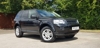 2013 LAND ROVER FREELANDER 2.2 TD4 BLACK AND WHITE 5d AUTO 150 BHP £8995.00