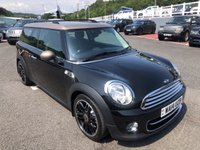 USED 2014 14 MINI CLUBMAN 1.6 COOPER D BOND STREET 5d 112 BHP Extended leather, Visual Boost, LED ++