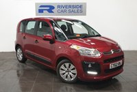 USED 2013 62 CITROEN C3 PICASSO 1.6 PICASSO VTR PLUS EGS 5d AUTO 118 BHP FINANCE AVAILABLE FROM 7.9% APR