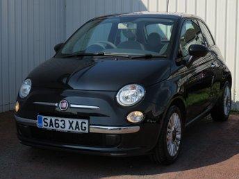 2013 FIAT 500 1.2 LOUNGE 3d 69 BHP £4495.00