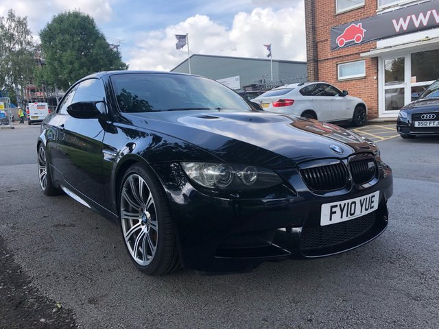 USED 2010 10 BMW M3 4.0 M3 2d AUTO 415 BHP CONVERTIBLE RACE TUNED STUNNING WELL MAINTAINED LOW MILEAGE 9 SERVICE STAMPS, ALLOY WHEELS, PARK SENSORS, HEATED LEATHER SEATS, RADIO/CD/AUX/USB, CRUISE CONTROL, CLIMATE CONTROL, SATELLITE NAVIGATION