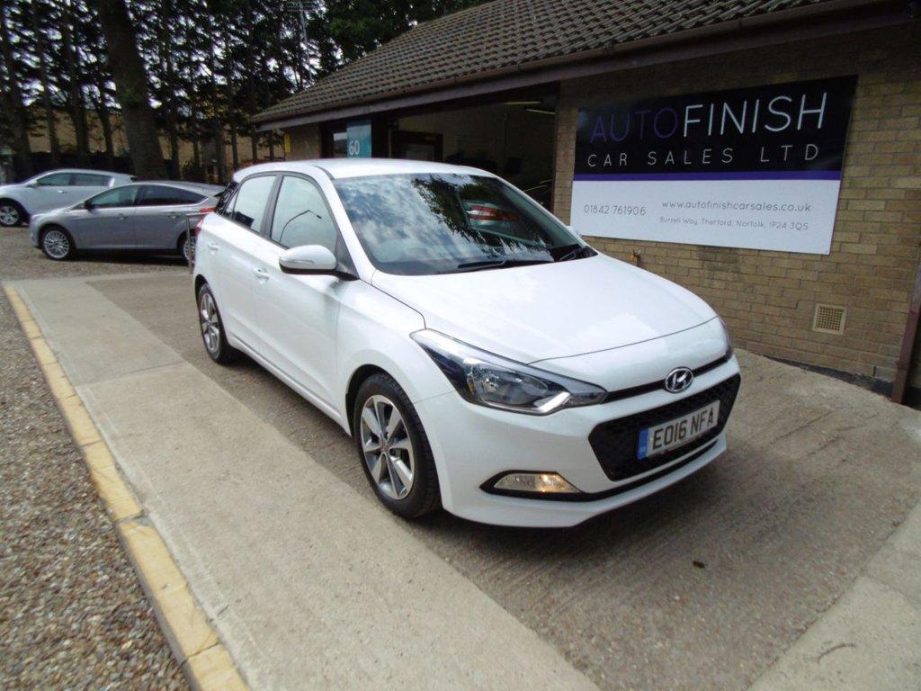 2016 Hyundai I20 CRDI SE £5,995