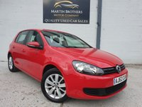 USED 2013 62 VOLKSWAGEN GOLF 1.6 MATCH TDI BLUEMOTION TECHNOLOGY DSG 5d AUTO 103 BHP