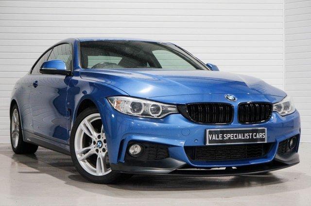 2015 15 BMW 4 SERIES 2.0 420D M SPORT (SAT NAV)