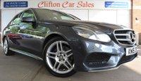 USED 2015 15 MERCEDES-BENZ E CLASS 2.1 E250 CDI AMG LINE 4d AUTO 201 BHP