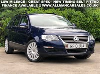 USED 2010 10 VOLKSWAGEN PASSAT 2.0 HIGHLINE PLUS TDI 5d 109 BHP
