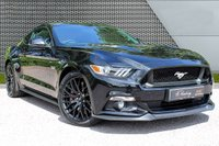 USED 2017 66 FORD MUSTANG 5.0 GT 2d AUTO 410 BHP *STEALTH PACK/SHAKER PRO/CAMERA*