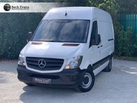 USED 2017 17 MERCEDES-BENZ SPRINTER 2.1 314CDI 1d 140 BHP FACELIFT