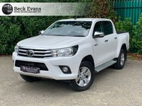 USED 2017 17 TOYOTA HI-LUX 2.4 ICON 4WD D-4D DCB 1d 148 BHP