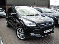 USED 2014 14 FORD KUGA 2.0 TITANIUM X TDCI 5d 138 BHP ANY PART EXCHANGE WELCOME, COUNTRY WIDE DELIVERY ARRANGED, HUGE SPEC