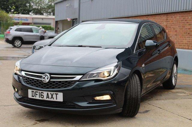Vauxhall Astra 1 6 CDTI Blueinjection Elite Nav (s/S) 5dr
