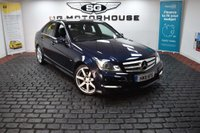 USED 2011 11 MERCEDES-BENZ C CLASS 2.1 C200 CDI BlueEFFICIENCY Sport 7G-Tronic 4dr SAT NAV, 2 OWNERS, AMG SPEC