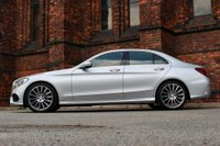 USED 2016 16 MERCEDES-BENZ C CLASS 2.1 C250d AMG Line (Premium Plus) 7G-Tronic+ (s/s) 4dr **SOLD AWAITING COLLECTION**