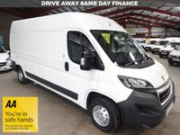 "USED 2015 15 PEUGEOT BOXER 2.2 HDI 335 L3H2 PROFESSIONAL P/V 130 BHP VAN ""YOU'RE IN SAFE HANDS"" - AA DEALER PROMISE"