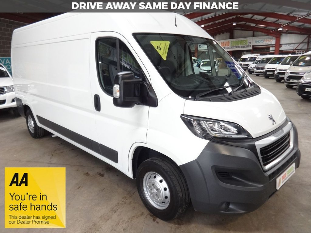 USED 2015 15 PEUGEOT BOXER 2.2 HDI 335 L3H2 PROFESSIONAL P/V 130 BHP VAN AA DEALER WARRANTY PROMISE - TRADING STANDARDS APPROVED