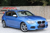 USED 2013 63 BMW 1 SERIES M135I. 1OWNER-FULL BMW SERVICE HISTORY. LEATHER-SATELLITE NAVIGATION PRO