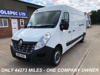 2015 RENAULT MASTER 2.3 LM35 BUSINESS DCI LWB 125 BHP LOW MILEAGE £8000.00