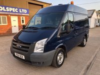 USED 2011 61 FORD TRANSIT 2.2 300 SWB MED ROOF 85 BHP